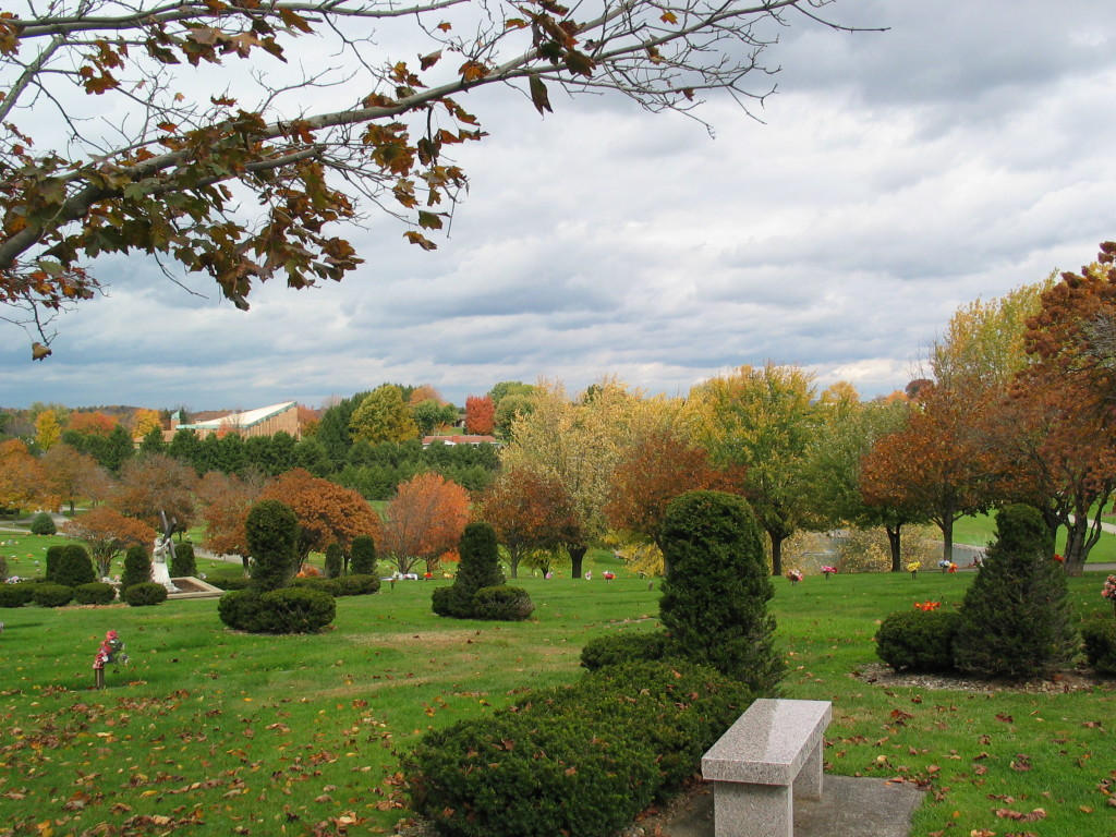 Twin Valley Memorial Park, Delmont, PA, October 20, 2012