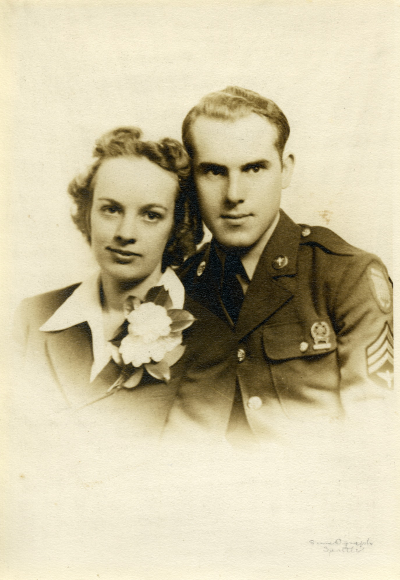 Ed and Dolores Ardisson, April 5, 1942